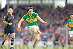 Anthony Maher, Kerry in action against \t0\ in the first round of the Munster Football Championship at Fitzgerald Stadium on Sunday.