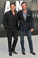Jason Isaacs &amp; James Purefoy at the &quot;The Legend of Tarzan&quot; European film premiere, Odeon Leicester Square, Leicester Square, London, England, UK, on Tuesday 05 July 2016.<br /> CAP/CAN<br /> &copy;Can Nguyen/Capital Pictures /MediaPunch ***NORTH AND SOUTH AMERICAS ONLY***