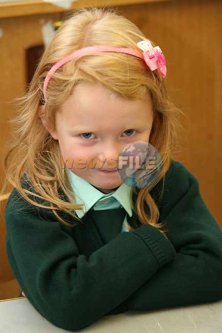 Fatima 1st Day at School 2009..Photo NEWSFILE/Jenny Matthews.(Photo credit should read Jenny Matthews/NEWSFILE)....This Picture has been sent you under the condtions enclosed by:.Newsfile Ltd..The Studio,.Millmount Abbey,.Drogheda,.Co Meath..Ireland..Tel: +353(0)41-9871240.Fax: +353(0)41-9871260.GSM: +353(0)86-2500958.email: pictures@newsfile.ie.www.newsfile.ie.FTP: 193.120.102.198.
