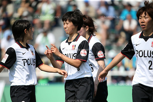 Shiho Kohata (Reds Ladies),<br /> JUNE 1, 2014 - Football / Soccer : Plenus Nadeshiko League 2014 Regular series between NTV BELEZA 0-2 Urawa Reds LADIES at Ajinomoto Field Nishigaoka Stadium, Tokyo, Japan. (Photo by Jun Tsukida/AFLO SPORT)