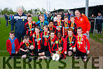 St Brendan's Park, Tralee  U11 B team celebrate winning the Shield final after defeating Listowel Celtic 1-0 last Friday evening at Mounthawk Park, Tralee.