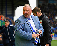 Gillingham Manager Steve Evans during Portsmouth vs Gillingham, Sky Bet EFL League 1 Football at Fratton Park on 12th October 2019