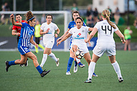 Boston, MA - Friday August 04, 2017: Lo'eau Labonta during a regular season National Women's Soccer League (NWSL) match between the Boston Breakers and FC Kansas City at Jordan Field.
