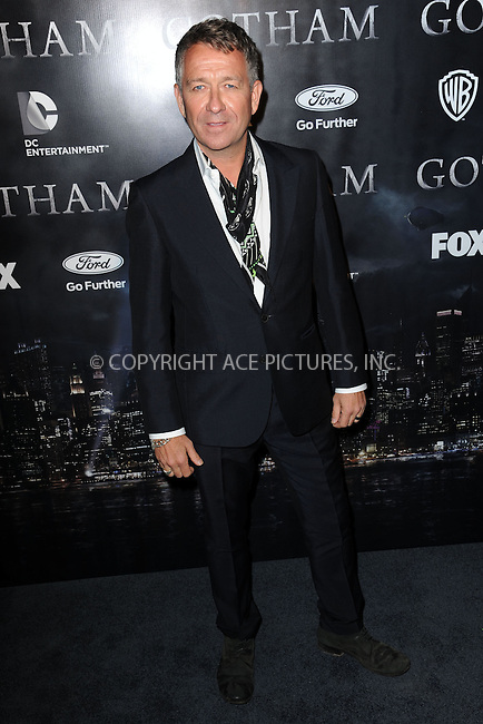 WWW.ACEPIXS.COM<br /> September 15, 2014 New York City<br /> <br /> Sean Pertwee attending The 'Gotham' Series Premiere at The New York Public Library onSeptember 15, 2014 in New York City.<br /> <br /> Please byline: Kristin Callahan/AcePictures<br /> <br /> ACEPIXS.COM<br /> <br /> Tel: (212) 243 8787 or (646) 769 0430<br /> e-mail: info@acepixs.com<br /> web: http://www.acepixs.com