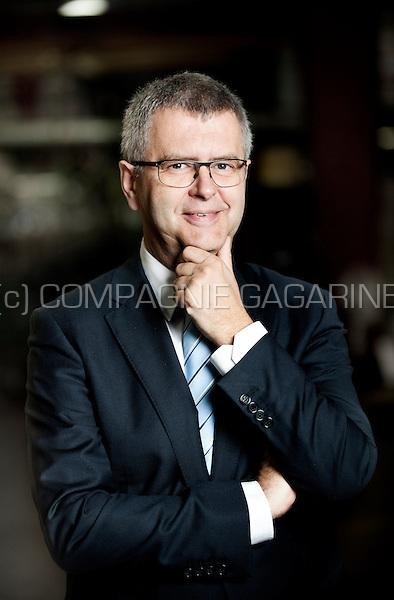 Hubert Bosten, CEO of the NMC construction company (Belgium, 31/10/2014)