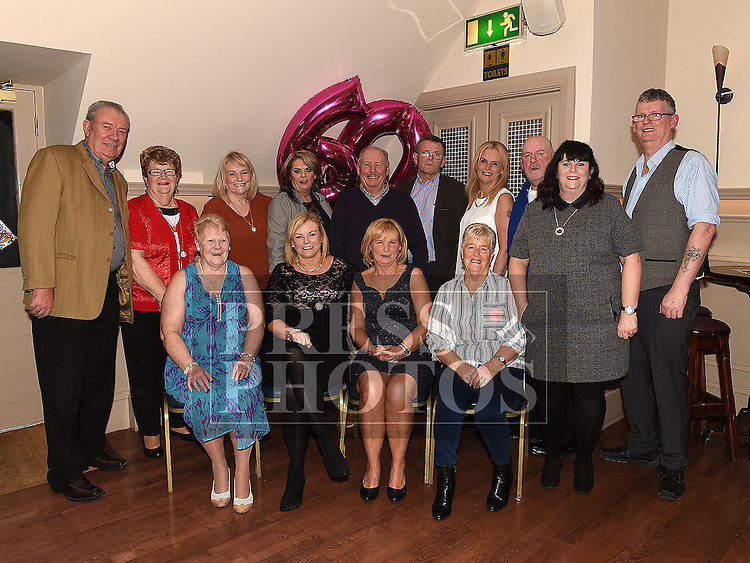 Rosie Smith celebrating her 60th birthday with her family in the Thatch. Photo:Colin Bell/pressphotos.ie
