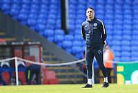 Anthony Knockheart of Brighton & Hove Albion surveys the pitch before  Crystal Palace vs Brighton & Hove Albion, Premier League Football at Selhurst Park on 14th April 2018
