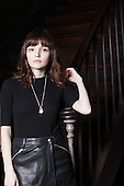 Nov 10, 2015: CHVRCHES - Photosession in Paris France