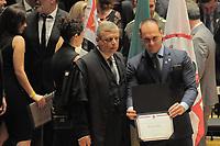 SÃO PAULO,SP,18.12.2018 - DIPLOMAÇÃO-SP - Eduardo Bolsonaro durante cerimonia de diplomação dos candidatos eleitos para assumir o cargo em janeiro 2019. A cerimonia foi realizada na sala Sao Paulo nesta terça-feira, 18.(Foto Dorival Rosa/Brazil Photo Press)