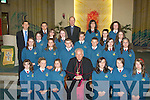 Confirmation day for the Robert Kennedy's class Scoil Eoin, Balloonagh in Our Lady & St Brendans Church by Bill Murphy, Bishop of Kerry................................... ....