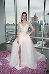 pamella roland Fall 2015 bridal collection model presentation