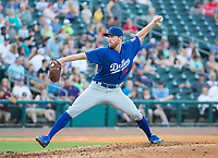Tulsa Drillers vs NWA Naturals Baseball Chris Rearick of the Drillers started tonight with the Drillers.  Went out in the 3rd inning with an injury against the at Arvest Ballpark, Springdale, AR, Wednesday, July 12, 2017,  © 2017 David Beach