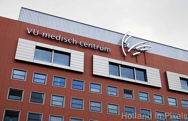 Nederland Amsterdam - September 2018.Zuidas. VU Medisch Centrum (VUmc). Fusie met het Academisch Medisch Centrum (AMC).  Foto Berlinda van Dam / Hollandse Hoogte