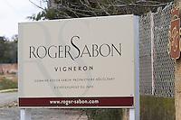 domaine roger sabon chateauneuf du pape rhone france