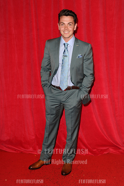 Ray Quinn arriving for the 2014 British Soap Awards, at the Hackney Empire, London. 24/05/2014 Picture by: Steve Vas / Featureflash