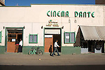 Cinema Dante, l un des plus anciens d asmara construit en 1910..Dante cinema, oldest cinema of Asmara, built in the 1910s