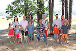 Long Family Reunion, Bass Lake, California, July 2014, <br />