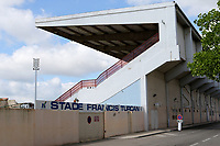 The main entrance to the Stade Francis Turcan, Martigues during Turkey Under-21 vs Scotland Under-21, Tournoi Maurice Revello Football at Stade Francis Turcan on 9th June 2018