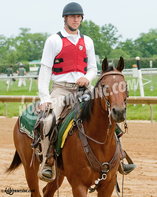 Colby Lavergne at Delaware Park on 5/27/13.