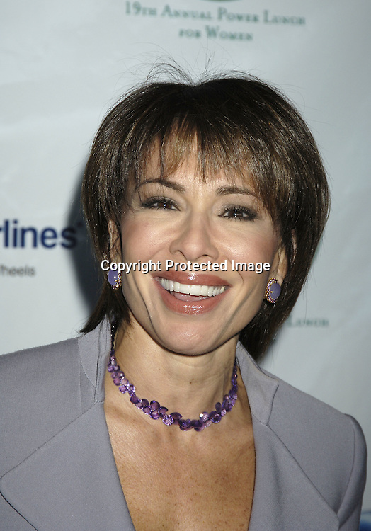 Jeanine Pirro ..at The Citymeals-on-Wheels 19th Annual Power Lunch for Women on November 18, 2005 at The Rainbow Room. ..Photo by Robin Platzer, Twin Images