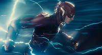 Justice League (2017) <br /> EZRA MILLER as The Flash<br /> *Filmstill - Editorial Use Only*<br /> CAP/KFS<br /> Image supplied by Capital Pictures