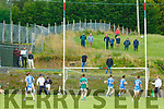 Thats A Point: Supporters took every vantage point to watch the action from Listry  v Firies JFC clash in Kilcummin on Sunday