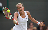 BARBORA ZAHLAVOVA STRYCOVA  (CZE)<br /> <br /> The Championships Wimbledon 2014 - The All England Lawn Tennis Club -  London - UK -  ATP - ITF - WTA-2014  - Grand Slam - Great Britain -  27th June 2014. <br /> <br /> &copy; AMN IMAGES