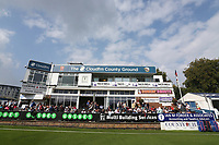 The Doug Insole pavilion during Essex CCC vs Yorkshire CCC, Specsavers County Championship Division 1 Cricket at The Cloudfm County Ground on 26th September 2017