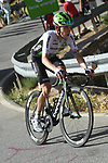 Benjamin King (USA) Team Dimension Data from the breakaway climbs Sierra de la Alfaguara during Stage 4 of the La Vuelta 2018, running 162km from Velez-Malaga to Alfacar, Sierra de la Alfaguara, Andalucia, Spain. 28th August 2018.<br /> Picture: Colin Flockton   Cyclefile<br /> <br /> <br /> All photos usage must carry mandatory copyright credit (&copy; Cyclefile   Colin Flockton)