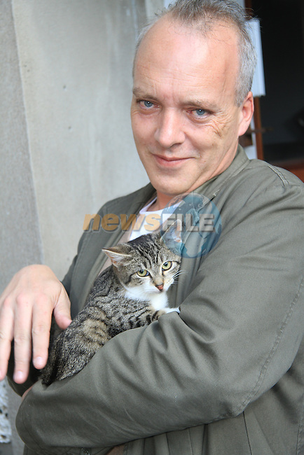 Noel Cosgrave at the Drogheda Animal Rescue cat re-homing day..Picture: Shane Maguire / www.newsfile.ie