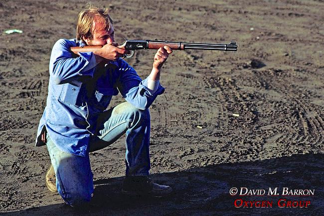 Perry Daniels Target Practicing