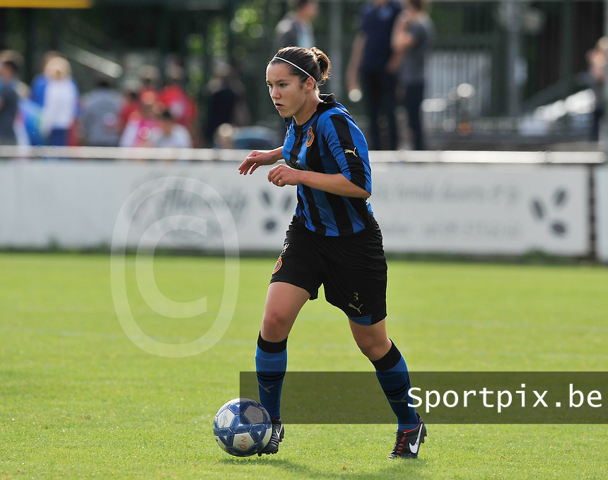 Club Brugge Dames : Elien Van Wynendaele.Foto David Catry / Vrouwenteam.be