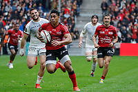 Malakai Fekitoa of Toulon during the Top 14 match between Toulon and Toulouse at Felix Mayol Stadium on April 6, 2019 in Toulon, France. (Photo by Wallis/Icon Sport)