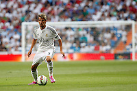Coentrao of Real Madrid during La Liga match between Real Madrid and Atletico de Madrid at Santiago Bernabeu stadium in Madrid, Spain. September 13, 2014. (ALTERPHOTOS/Caro Marin)