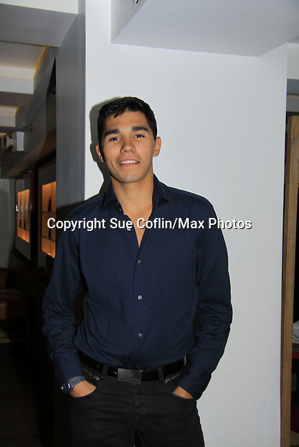 "Anthony Lee Medina at the premiere of ""Excuse Me For Living"" on October 12, 2012 at AMC Loews Village 7, New York City, New York.  (Photo by Sue Coflin/Max Photos)"
