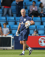 England Goalkeeping Coach during the International match between England U19 and Netherlands U19 at New Bucks Head, Telford, England on 1 September 2016. Photo by Andy Rowland.