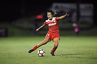 Boyds, MD - Saturday August 26, 2017: Caprice Dydasco during a regular season National Women's Soccer League (NWSL) match between the Washington Spirit and the Chicago Red Stars at Maureen Hendricks Field, Maryland SoccerPlex.