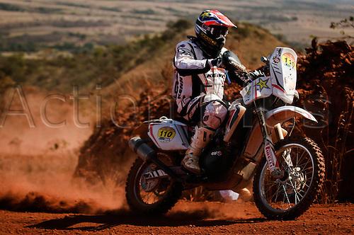 13 08 2010  driver of  Moto Ludovic  Durante 2010 Rally dos Sertes Brazil