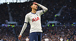 Tottenham's Son Heung-min reacts during the Premier League match at the Tottenham Hotspur Stadium, London. Picture date: 30th November 2019. Picture credit should read: Paul Terry/Sportimage