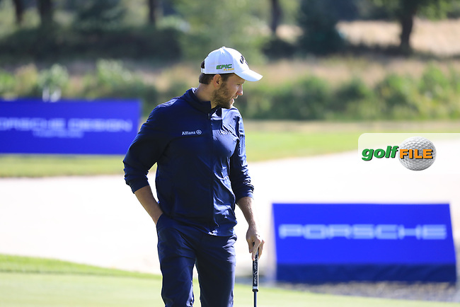 Maximilian Kieffer (GER) during the second round of the Porsche European Open , Green Eagle Golf Club, Hamburg, Germany. 06/09/2019<br /> Picture: Golffile | Phil Inglis<br /> <br /> <br /> All photo usage must carry mandatory copyright credit (© Golffile | Phil Inglis)