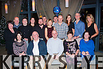 40 Rocks<br /> ----------<br /> Ray Stack,Ballyheigue (seated centre) had a fine time celebrating his 40th birthday last Saturday night in the Ballyroe Hts hotel,Tralee along with friends and family.