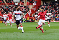 André Green of Charlton Athletic shot goes wide during Charlton Athletic vs Middlesbrough, Sky Bet EFL Championship Football at The Valley on 7th March 2020
