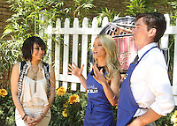 May 29, 2012 Raven Symone, Kelly Ripa and guest host Jerry O'Connell  grilling at Live with Kelly! in New York City. © RW/MediaPunch Inc.