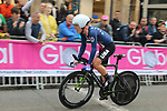 G Lawson Craddock (USA) climbs Parliment Street during the Men Elite Individual Time Trial of the UCI World Championships 2019 running 54km from Northallerton to Harrogate, England. 25th September 2019.<br /> Picture: Seamus Yore | Cyclefile<br /> <br /> All photos usage must carry mandatory copyright credit (© Cyclefile | Seamus Yore)