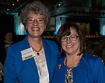 Meggin McIntosh and Robbin Hickman during the 26th Annual Salute to Women of Achievement Luncheon held at the Grand Sierra Resort on Thursday, May 25, 2017.
