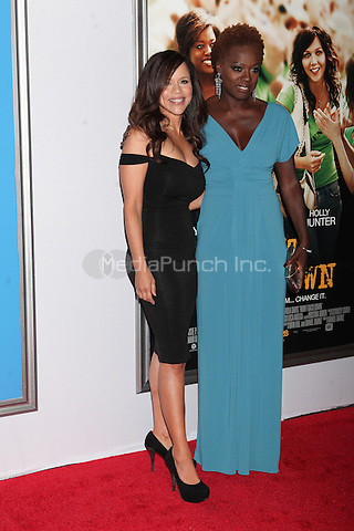 NEW YORK, NY - SEPTEMBER 23, 2012: Rosie Perez and Viola Davis attend the 20th Century Fox and NBC News Education Nation film premiere of Wont Back Down at the Ziegfeld Theatre  in New York City, NY. September 23, 2012. © Diego Corredor/MediaPunch Inc.