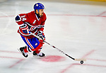 22 November 2008: Montreal Canadiens' center Tomas Plekanec from the Czech Republic in action during the second period against the Boston Bruins at the Bell Centre in Montreal, Quebec, Canada.  After a 2-2 regulation tie and a non-scoring 5-minute overtime period, the Boston Bruins scored the lone shootout goal thus defeating the Canadiens 3-2. The Canadiens, celebrating their 100th season, honored former Montreal goaltender Patrick Roy, and retired his jersey (Number 33) during pre-game ceremonies. ***** Editorial Use Only *****..Mandatory Photo Credit: Ed Wolfstein Photo *** Editorial Sales through Icon Sports Media *** www.iconsportsmedia.com