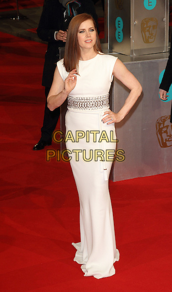 LONDON, ENGLAND - FEBRUARY 08: Amy Adams attends the EE British Academy Film Awards at The Royal Opera House on February 8, 2015 in London, England<br /> CAP/ROS<br /> &copy;Steve Ross/Capital Pictures
