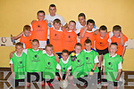 The Shannakill Team pictured at an indoor soccer blitz at Kerryhead family resource centre on Thursday..Front From Left John Ward, Martin Burke, Connor Morrison-O'Brien, Nathan O'Leary, Eoin Mason, Eoin Gunn, Michael Dennehy, .Back Row From Left Johnathan O'Rielly, Pa Burke, Christopher Hagerty, Graham Nelligan, Nathan O'Brien, Kevin Quirke, Paul O'Shea, Kevin Dolan, Jason Cregan.