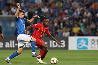 Nicolo Barella of Italy and Ryan Heynen of Belgium <br /> Reggio Emilia 22-06-2019 Stadio Città del Tricolore <br /> Football UEFA Under 21 Championship Italy 2019<br /> Group Stage - Final Tournament Group A<br /> Belgium - Italy<br /> Photo Cesare Purini / Insidefoto